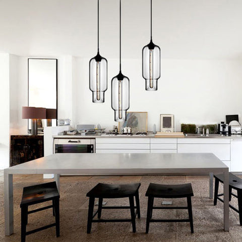 Manarola glass pendant light