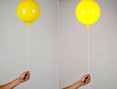 Balloon Light For Children's Room - yellow on off