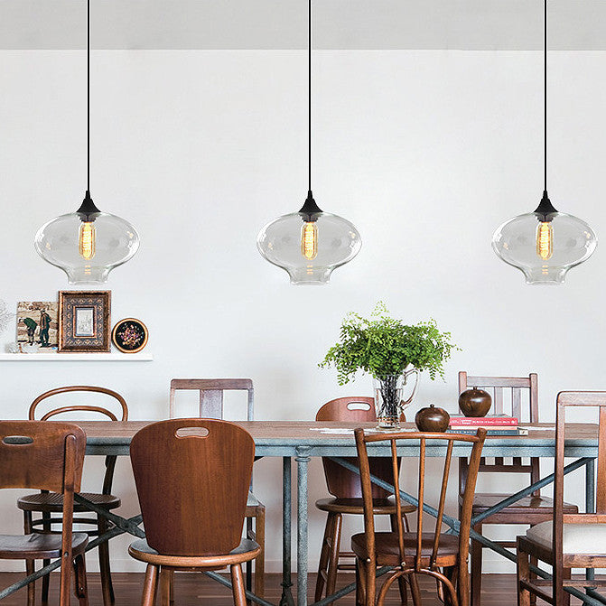 Portofino Glass Pendant Light Tudo And Co