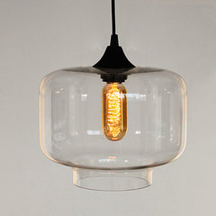 Positano Glass Shade Pendant Ceiling Light, Jeremy Pyles Oculo Replica