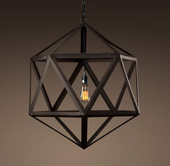 Polyhedron Pendant Light