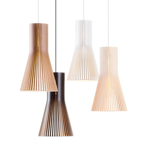 Seppo Koho Replica Secto Wooden Pendant Light