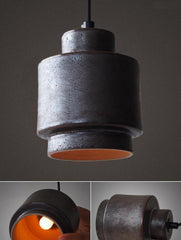 Tom Dixon Lustre Black Replica. Ceramic Pendant Light