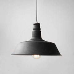 Vintage Edison Industrial Pendant Light black