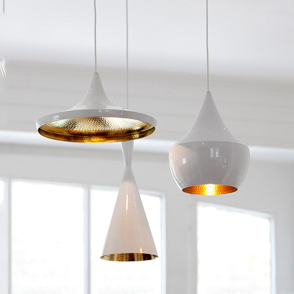 Tom Dixon Beat Replica White Pendant Light