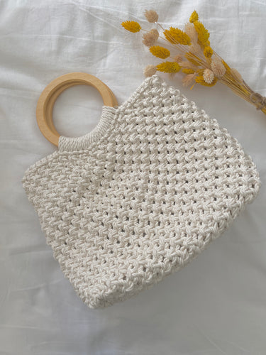 « LUCIE » SAC À MAIN EN MACRAMÉ - Crafty MCrame | Made from Craft