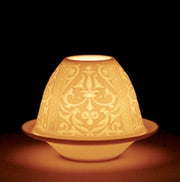 LITHOPHANE VOTIVE LIGHT - RENAISSANCE