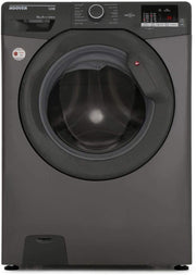 Hoover 8Kg Front Load Washing Machine, 1400 RPM, Silver - DHL1482DR3R/1-80