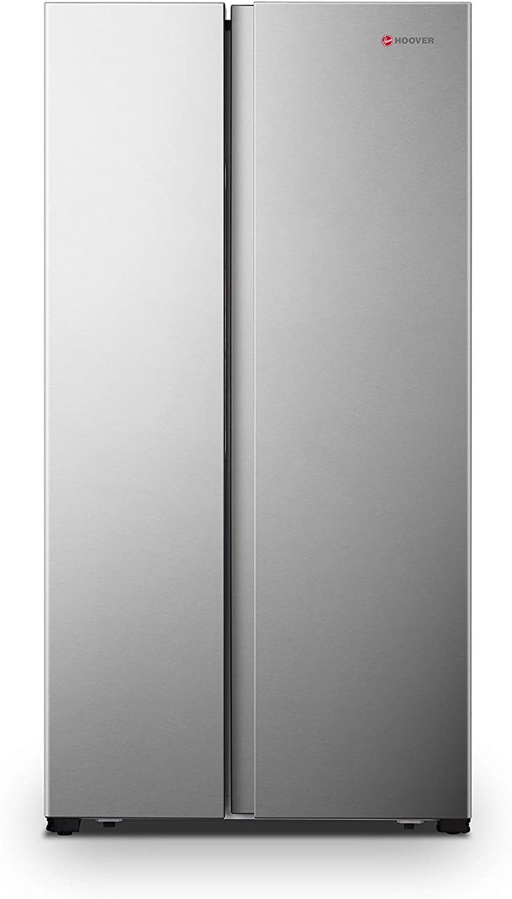 Hoover 508 Liters Side by Side Refrigerator, Silver - HSB508-S