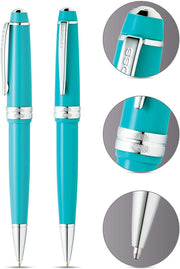 Cross Bailey Light Polished Teal Resin Ballpoint Pen
