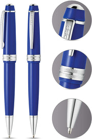 Cross Bailey Light Polished Blue Resin Ballpoint Pen