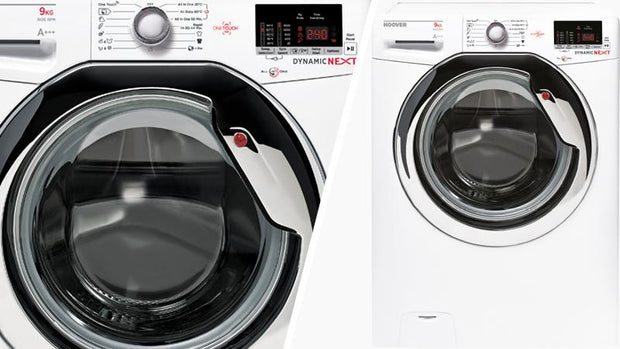 Hoover 8Kg/5Kg  Front Load Washer Dryer, 1500 RPM - WDXOC 585C/1-80