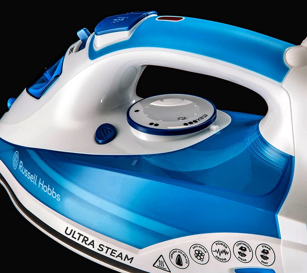 Russell Hobbs Ultra Steam Pro Blue 2600W-23990GCC