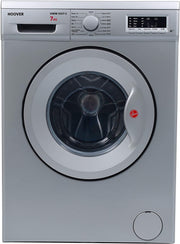 Hoover 7Kg Front Load Washing Machine, 1000 RPM, Silver - HWM-1007-S (Made In TURKEY)