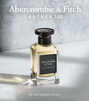 ABERCROMBIE & FITCH-AUTHENTIC FOR HIM EAU DE TOILETTE 50ML NATURAL SPRAY