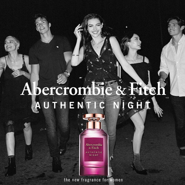 ABERCROMBIE & FITCH-AUTHENTIC NIGHT FOR WOMEN EAU DE PARFUM 50ML NATURAL SPRAY