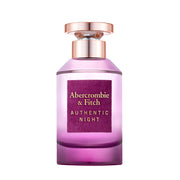 ABERCROMBIE & FITCH-AUTHENTIC NIGHT FOR WOMEN EAU DE PARFUM 100ML NATURAL SPRAY