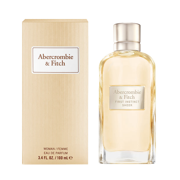 ABERCROMBIE & FITCH-FIRST INSTINCT SHEER WOMEN EAU DE PARFUM 100ML NATURAL SPRAY