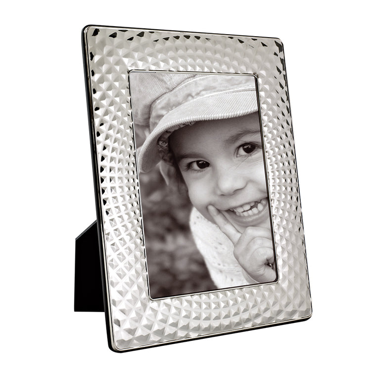 Carrs Silver of Sheffield Louvre Rectangle Frame - FR253/L-SP