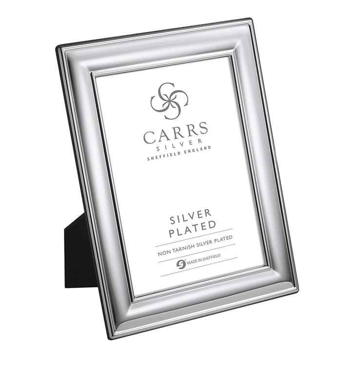 Carrs Silver of Sheffield Plain Rectangle Frame - LRW582-SP
