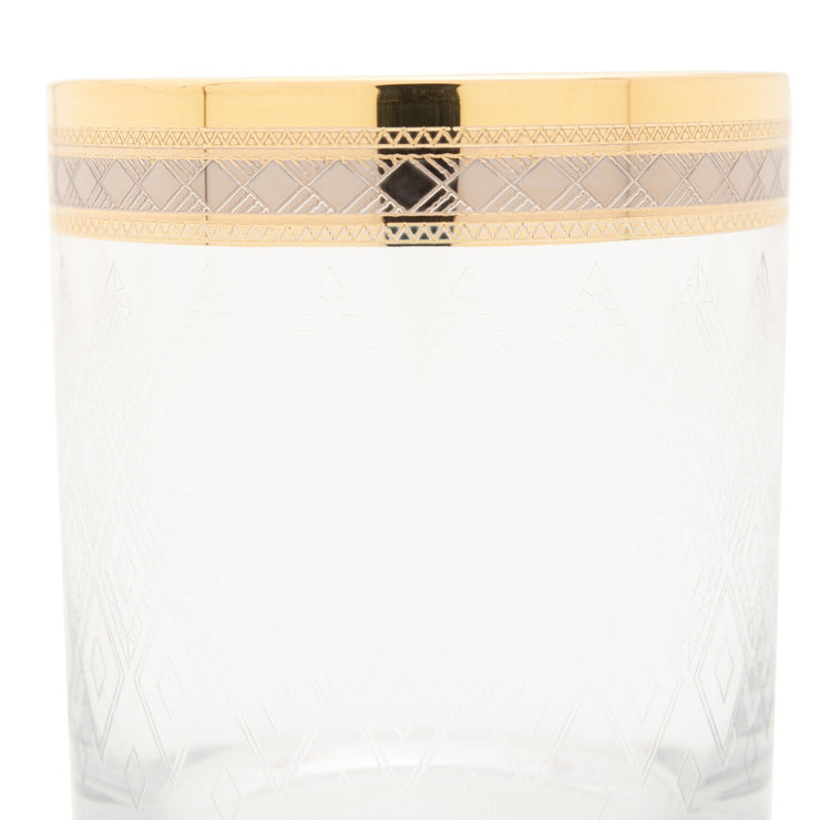Combi Morven Tumbler Set - Gold, 260 ml, Short, 6 Piece - G751GP/27/1