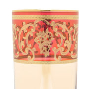 Combi Clarice Tumbler Set - Red and Amber, 300 ml, Long, 6 Piece - G597Z-RED&AM/25/1 - Jashanmal Home