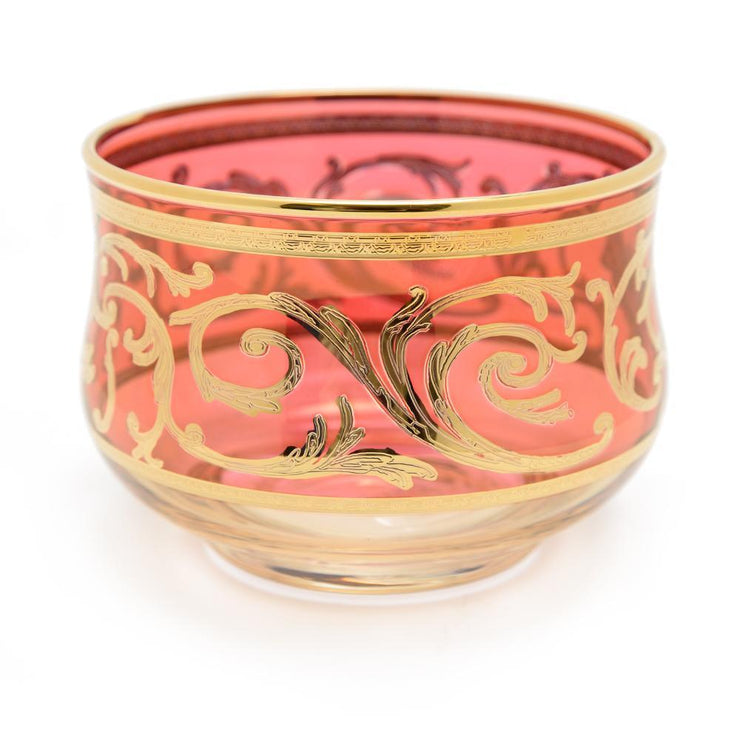 Combi Clarice Sugar Bowl - Red and Amber - G597Z-RED&AM/NR3 - Jashanmal Home