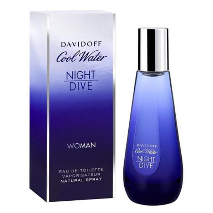 DAVIDOFF COOL WATER WOMAN NIGHT DIVE EDT 80ML