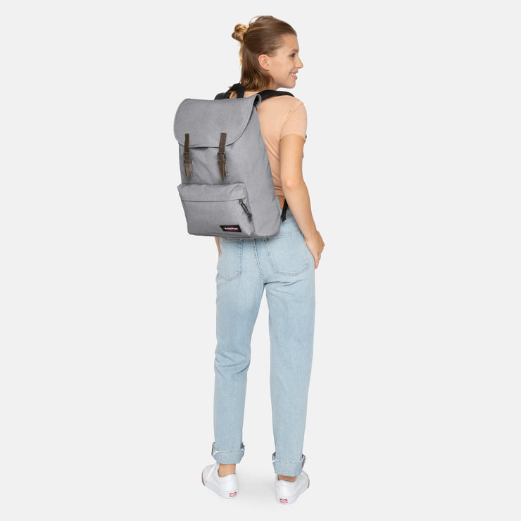 Eastpak-LONDON-Large Backpack -Sunday Grey-EK77B363