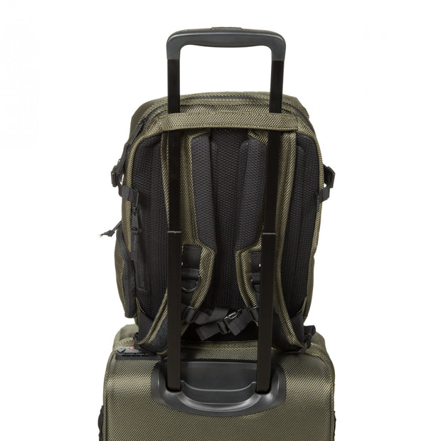 EASTPAK Tecum S Cnnct Khaki- Snall Laptop Backpack-EK00090DC061