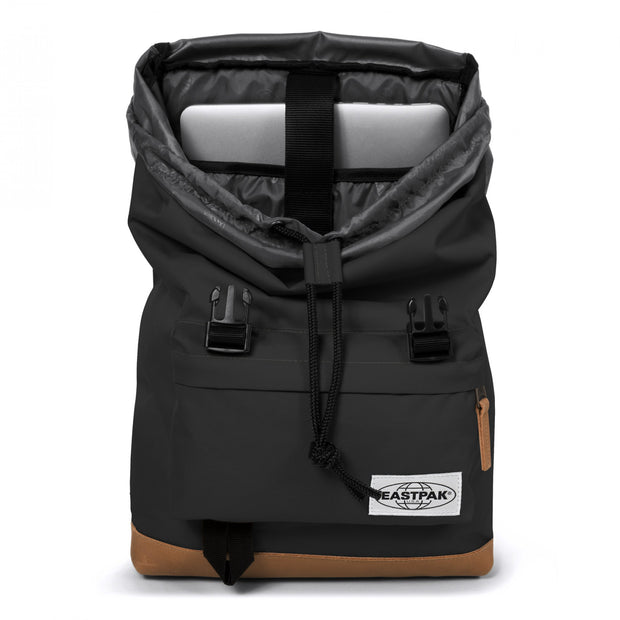 Eastpak-ROWLO-Large backpack with double buckle closure-Into Black-EK94661K