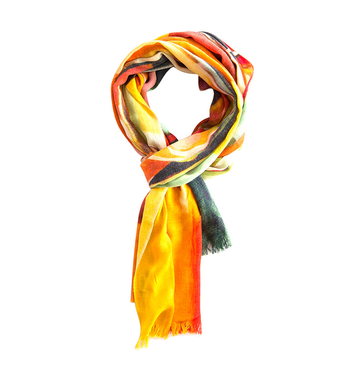 Ella Long 9Season Of Fall Pure Pashmina Wool Scarf - EISS18SCV013