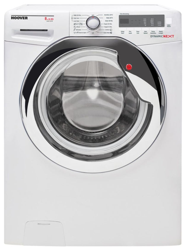 HOOVERR 8KG/5KG 1400 RPM WASHER DRYER WHITE
