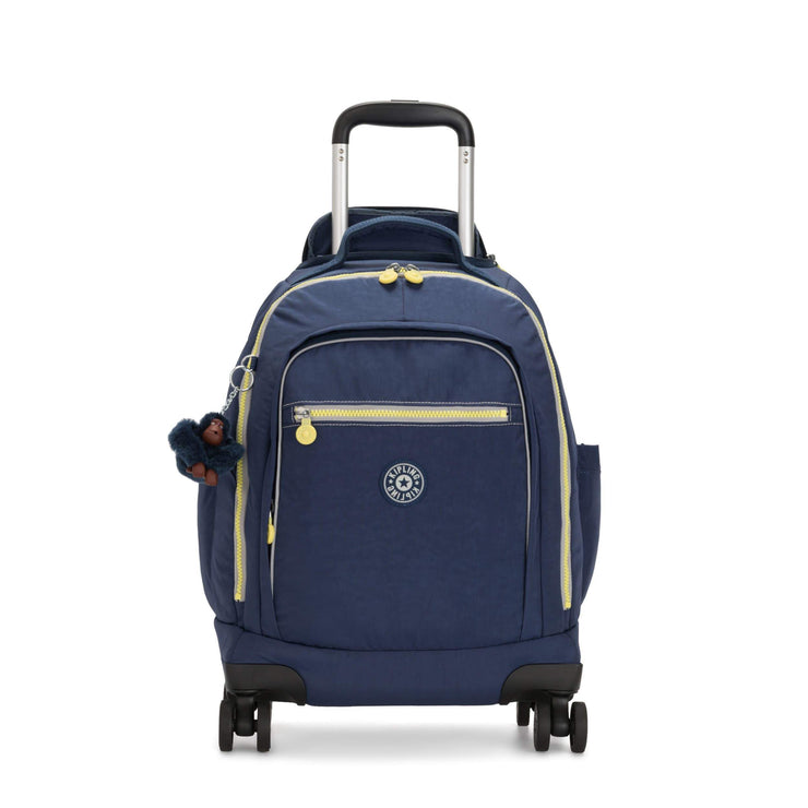 Kipling-Zea-Large wheeled backpack (with laptop protection)-Blue Thunder-I4879-54J