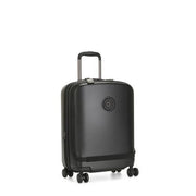 Kipling-Curiosity Pkt-Small cabin size wheeled luggage-Black Noir-I5608-P39