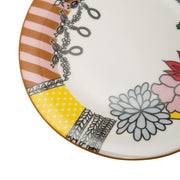 L'atelier FB Design Coupe Shape Dinner Plate Set - 26.5 x 26.5 cm, 6 Pieces - TC 4719 016