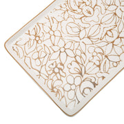 L'atelier FB Embroidery Rectangular Plate - 27.8 x 15.1 cm - TC 4715 018