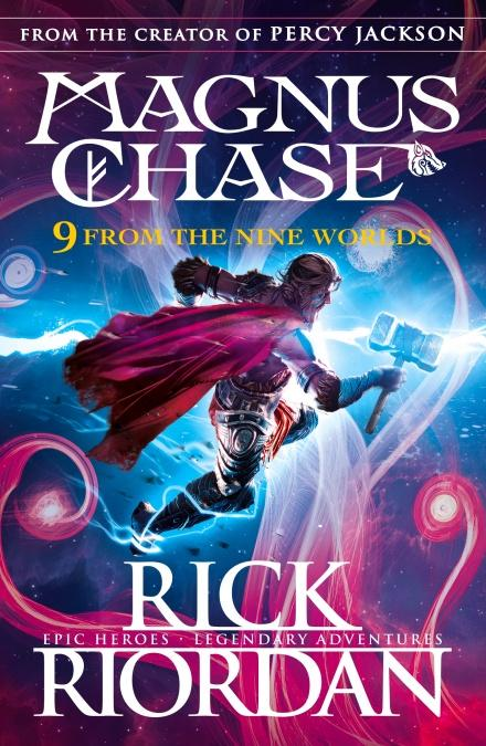 Books 9 FROM THE NINE WORLDS-RICK RIORDAN