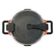 BergHOFF Virgo 28 cm Covered Deep Skillet with 2 Handles - Orange - 2304150