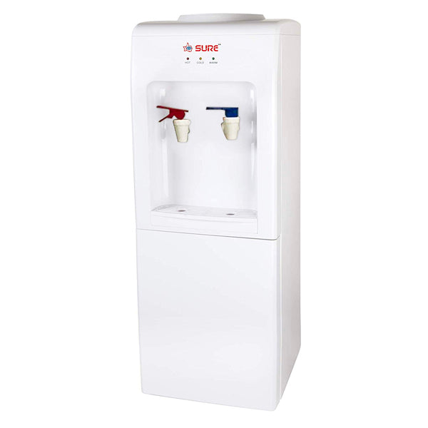 Sure Hot & Cold Top Loading Water Dispenser, White - SF1840