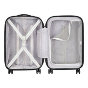 Delsey Caumartin Plus 4 Double Wheel Cabin Trolley Case - Black - 00207880100 BLACK - Jashanmal Home