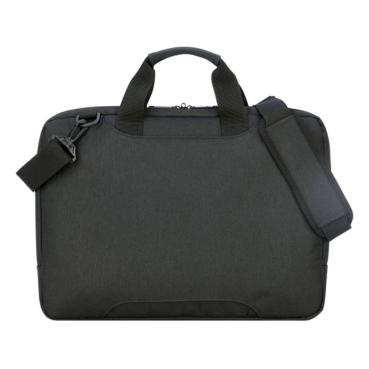 Delsey Esplanade 1 Compartment PC Protection Satchel - Deep Black - 00394216050 BLK - Jashanmal Home