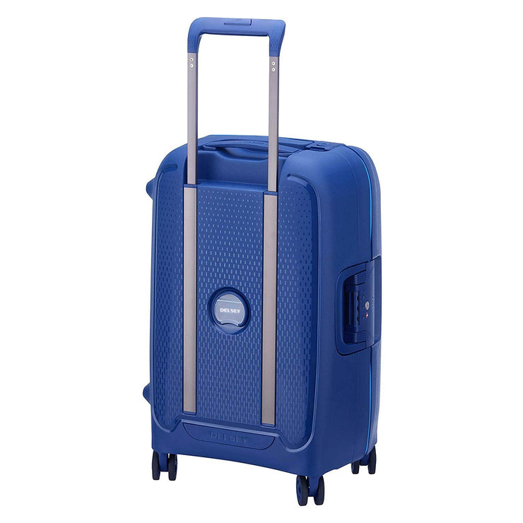 Delsey Moncey 2.0 Cabin Luggage Trolley Bag - Blue, 55 cm - 00384480102 BLUE - Jashanmal Home