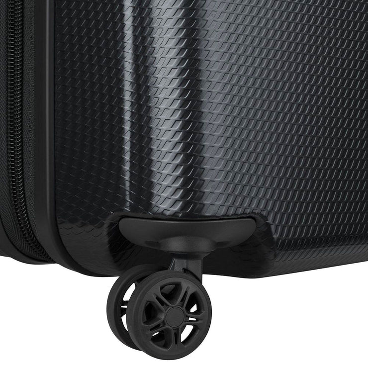 Delsey New Envol 4 Double Wheel Trolley Bag - Black, 55 cm - 00200380100 BLACK - Jashanmal Home