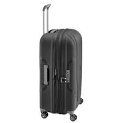 Delsey Clavel Expandable Cabin Luggage Trolley Bag - Black, 71 cm - 00384582000  BLACK - Jashanmal Home