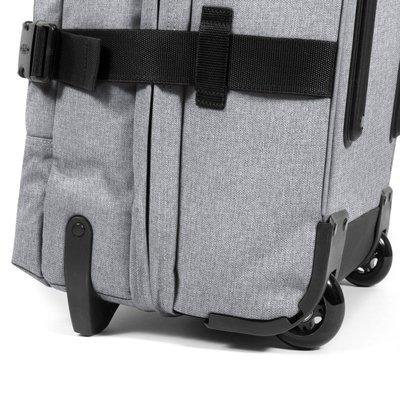 Eastpak-TRANVERZ M-Medium Wheeled Luggage-Sunday Grey-EK62L363