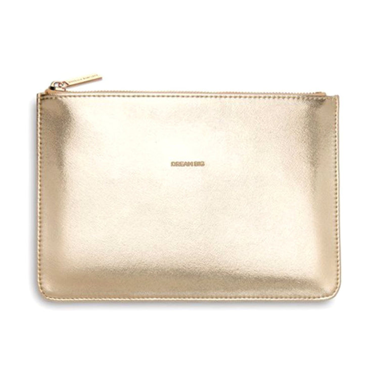 Estella Bartlett Dream Big Pouch - Gold - EBP2447