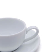 Dankotuwa Cup and Saucer - White, 12.3 cm - 3692/3693 - Jashanmal Home