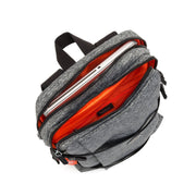 Kipling-Tamiko-Medium backpack with laptop protection -Jersey Grey-I4253-81D