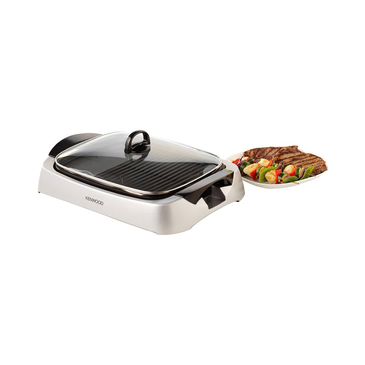 Kenwood Health Grill - Silver - HG266 - Jashanmal Home